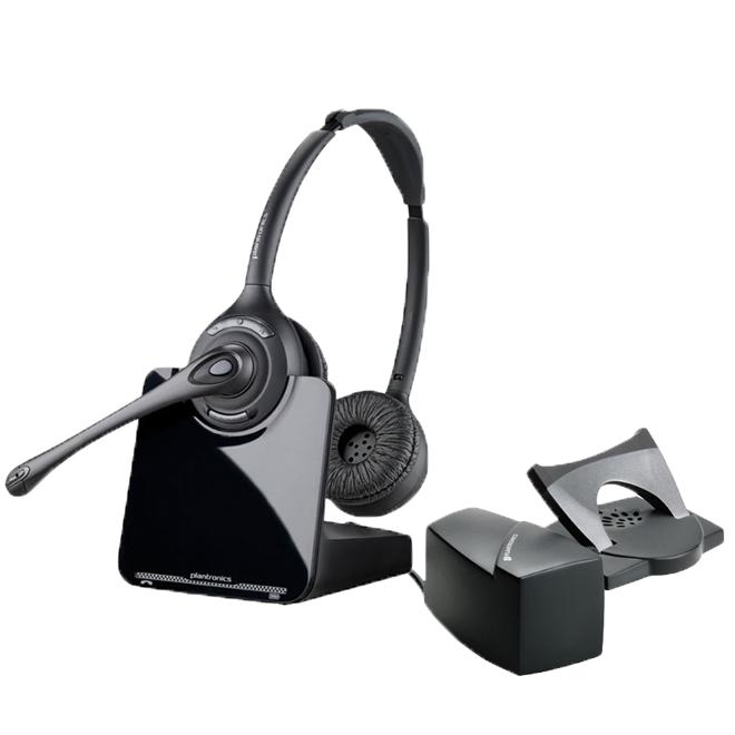 Plantronics Cs520 Binaural Wireless Headset Inc Hl10 Only