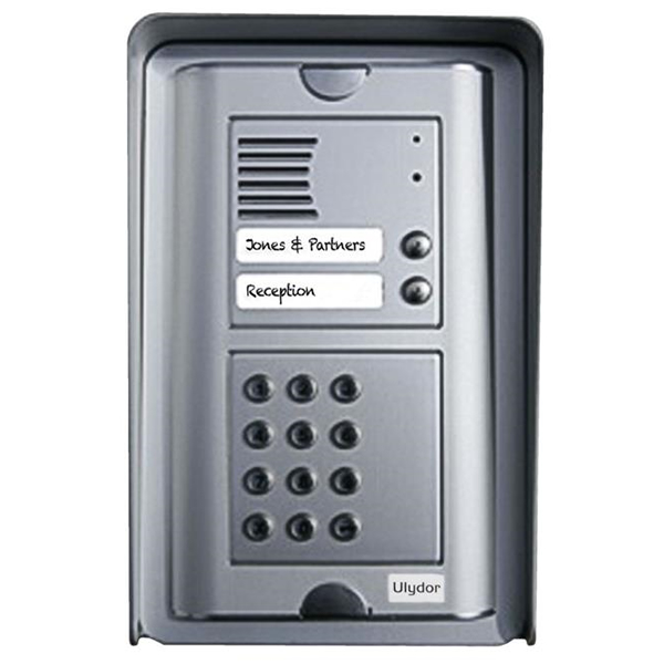 Kalika Ulydor Sk S Two Button Door Entry Phone With Keypad Surface