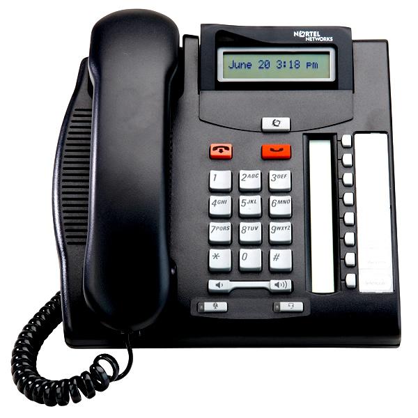 Avaya-nortel norstar t7208 phone nt8b26aable6, nt8b26aabm.