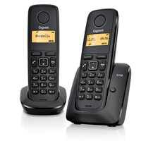 Gigaset A120 Duo DECT telephone
