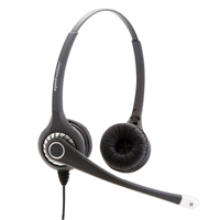 Agent 800 Binaural NC Headset with Free Bottom Cord