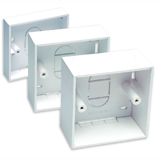 Unbranded Single Gang 32MM Back Boxes