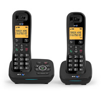 BT 1700 DECT Telephone with answering machine - Twin