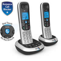 BT 2700 DECT Telephone with answering machine - Twin