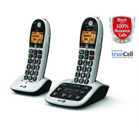 BT 4600 Big Button Advanced Call Blocker with Answering Machine - Twin