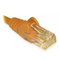 Unbranded Cat 5e Patch lead Yellow