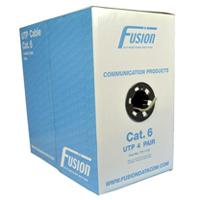 Fusion CAT6 Pvc Cable UTP 305M - Grey