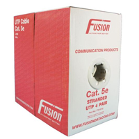 Fusion Cat 5E Stranded Cable - 305M - Grey