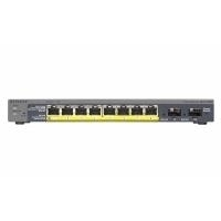 Netgear 8 Port Gigabit PoE Smart Switch (8xGigE PoE)