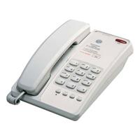 Interquartz Voyager Hotel No Memory Telephone - Light Grey