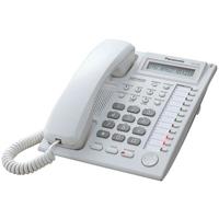 Panasonic KX-T7730 12 Key Analogue Telephone - White