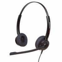 Agent 450 Binaural Noise Cancelling Headset with Free Bottom Cord