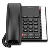 BT Converse 2200 Business Telephone - Black