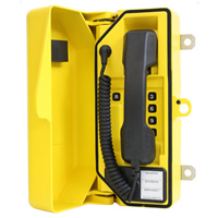 DAC RA708-FK-Y-C Full Keypad, Yellow with Curly Cord