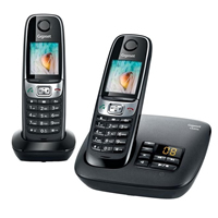 Gigaset C620A DECT Telephone With Answering Machine - Duo