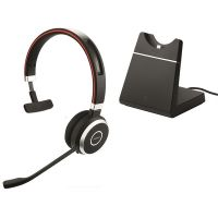 Jabra Evolve 65 Bluetooth UC Mono With Stand