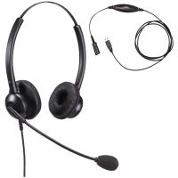 Unbranded Entry Level Double Ear Noise Cancelling Call Centre Headset With USB