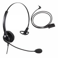 Unbranded Entry Level Single Ear Noise Cancelling Call Centre Headset With 2.5mm