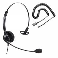 Unbranded Entry Level Single Ear Noise Cancelling Call Centre Headset With U10P