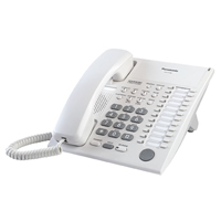 Panasonic KX-T7750 12 Key Analogue Telephone - White