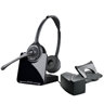 Plantronics CS520 Binaural Wireless Headset inc HL10