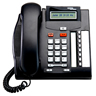 Nortel T7208 Digital Telephone Charcoal - Refurbished