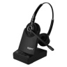 Agent AW80 Binaural DECT Headset - PC/Deskphone/Mobile
