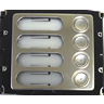 Kalika Ulydor C4 AV Anti-Vandal 4 Button Primary Extension Module