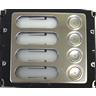 Kalika Ulydor C4 AV Anti-Vandal 4 Button Primary Extension Module